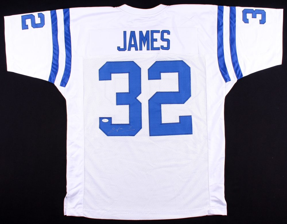 on sale 39812 6b015 Edgerrin James Signed Indianapolis Colts Jersey » Budd's Collectibles