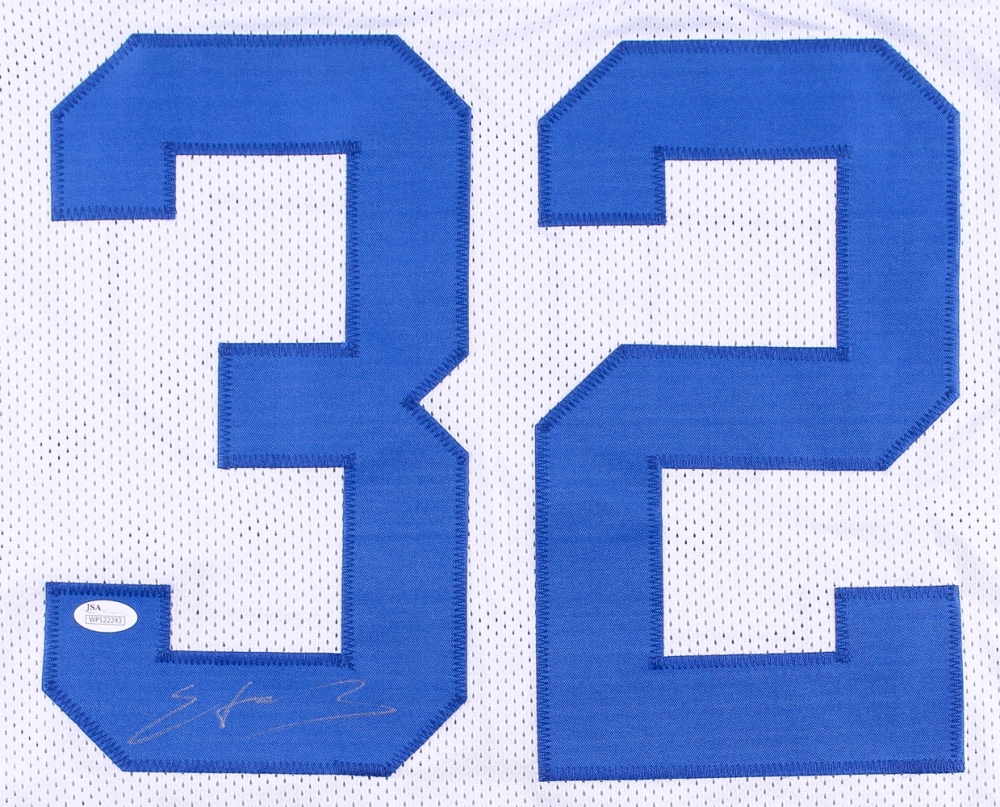 newest collection 21a0c ca515 Edgerrin James Signed Indianapolis Colts Jersey