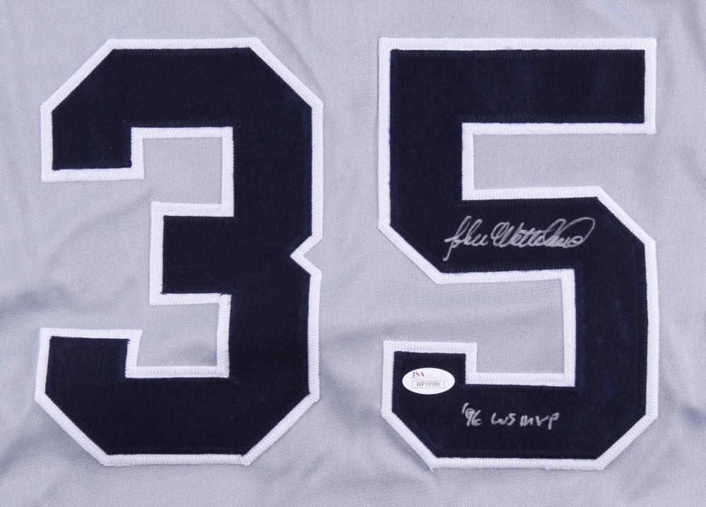 1cb84f14c26 John Wetteland Signed New york Yankees Jersey » Budd s Collectibles