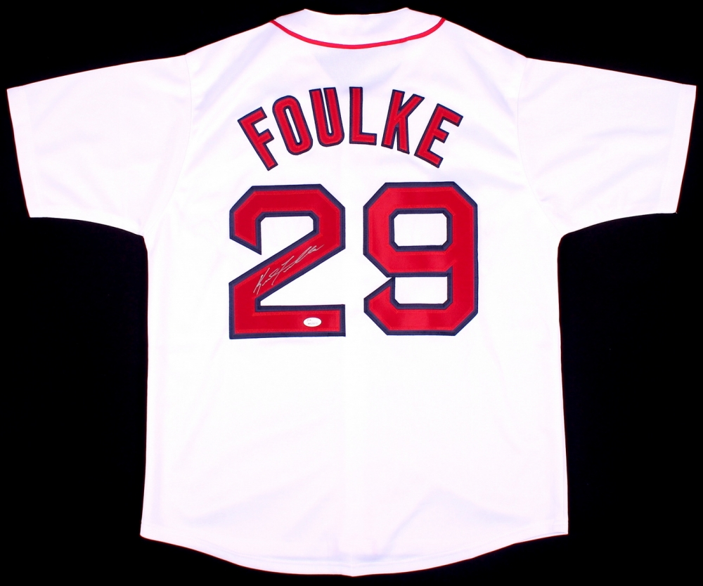 Keith Foulke Signed Boston Red Sox Jersey » Budd s Collectibles a5ff798f05e