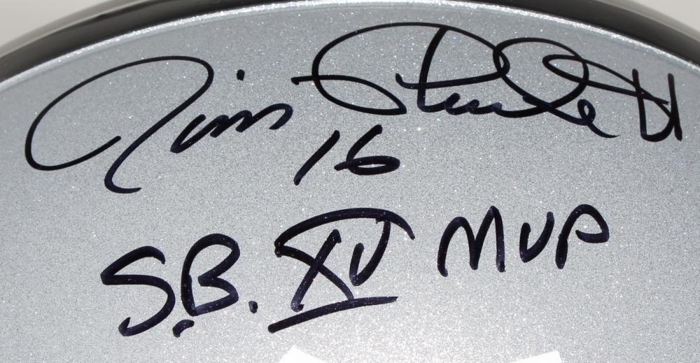 d7f7c31c0 Jim Plunkett Signed Oakland Raiders Full-Size Helmet » Budd's ...