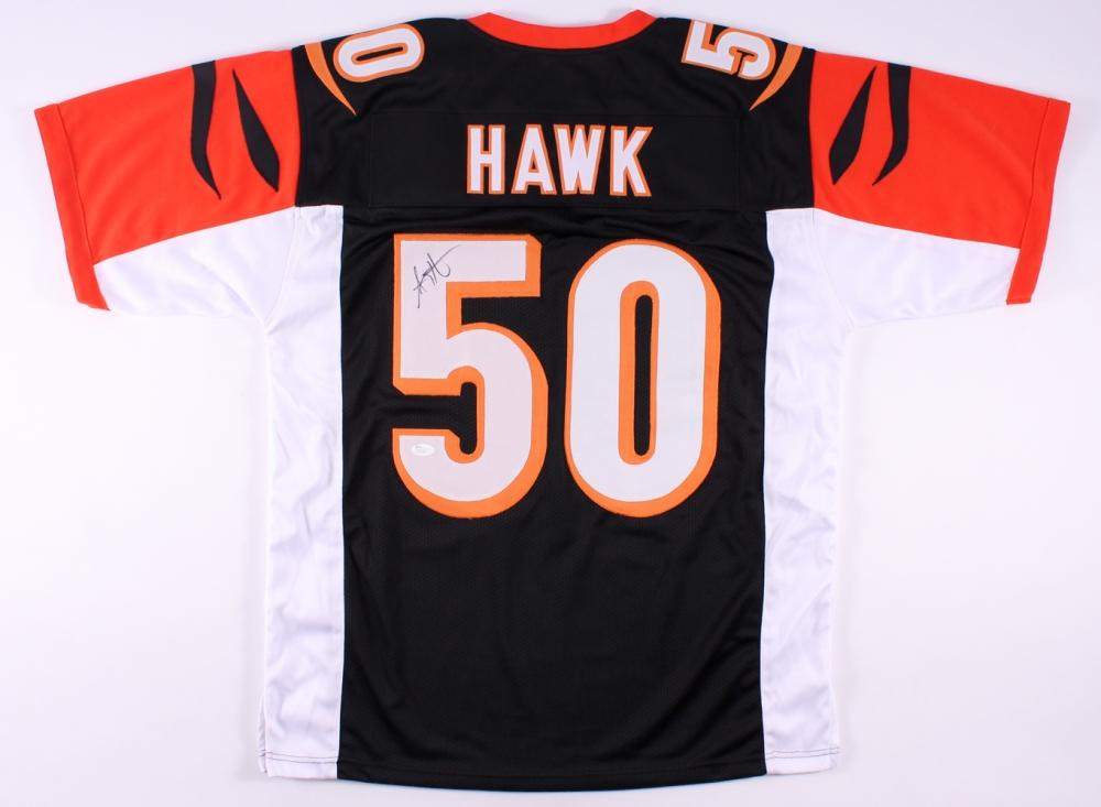 A.J. Hawk Signed Cincinnati Bengals Jersey » Budd s Collectibles d1e653e85