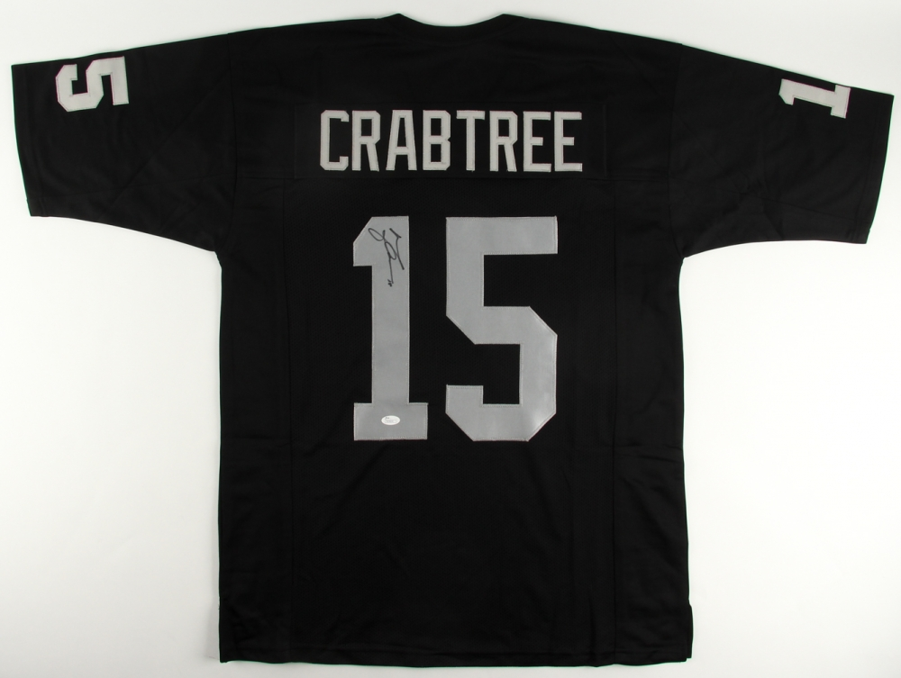 Michael Crabtree Signed Oakland Raiders Jersey » Budd's Collectibles
