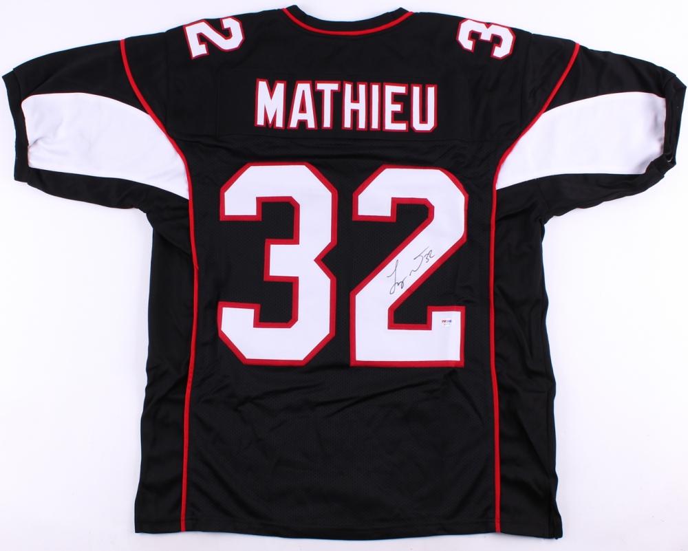 8868a5c8200b Tyrann Mathieu Signed Arizona Cardinals Jersey » Budd s Collectibles