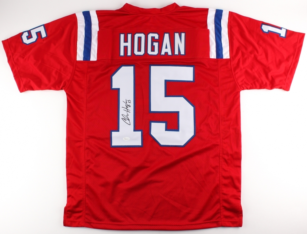 separation shoes 957a3 f30e6 Chris Hogan Signed New England Patriots Jersey » Budd's Collectibles