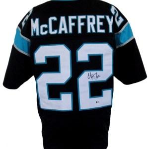 Christian McCaffrey Signed Carolina Panthers Jersey