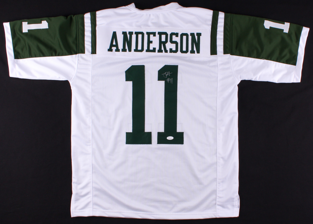 best website 988e8 87a39 Robby Anderson Signed New York Jets Jersey » Budd's Collectibles