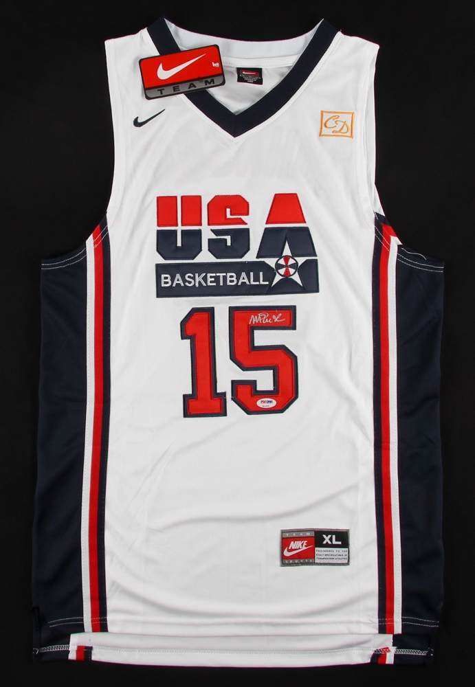 official photos f9c2d 47fb9 Magic Johnson Signed Team USA Nike Jersey » Budd's Collectibles