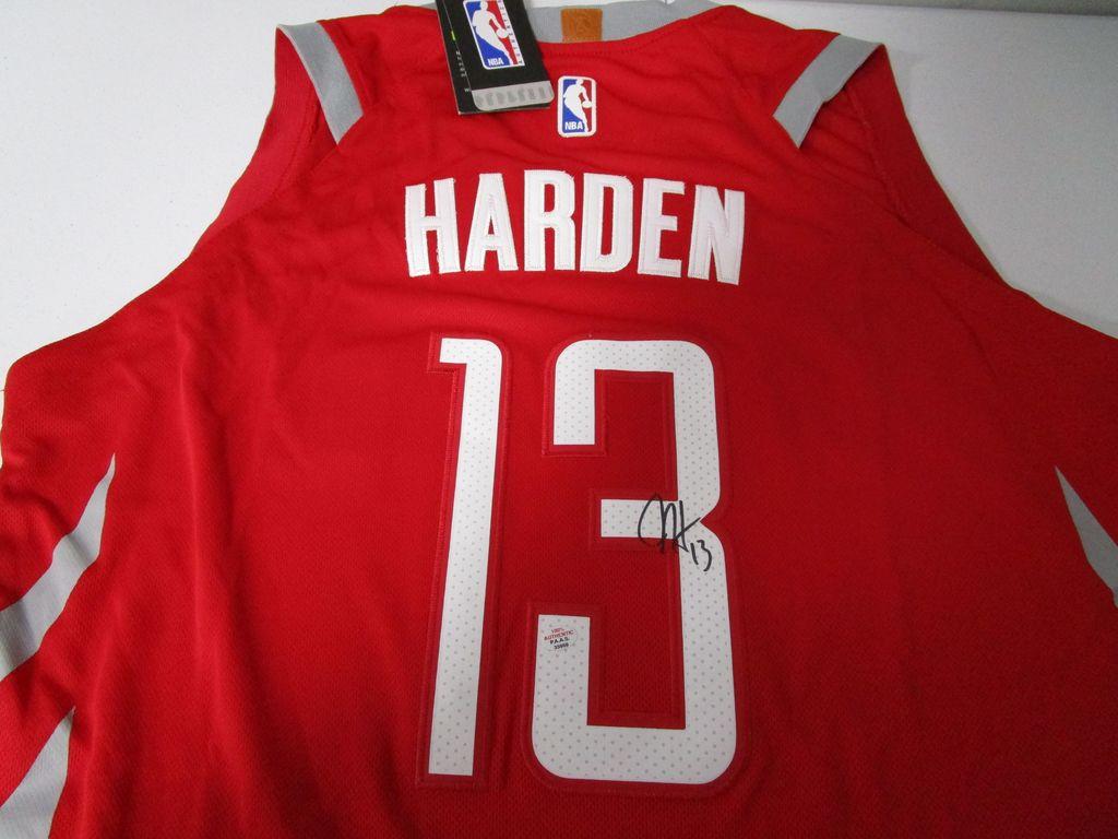 James Harden Houston Rockets signed