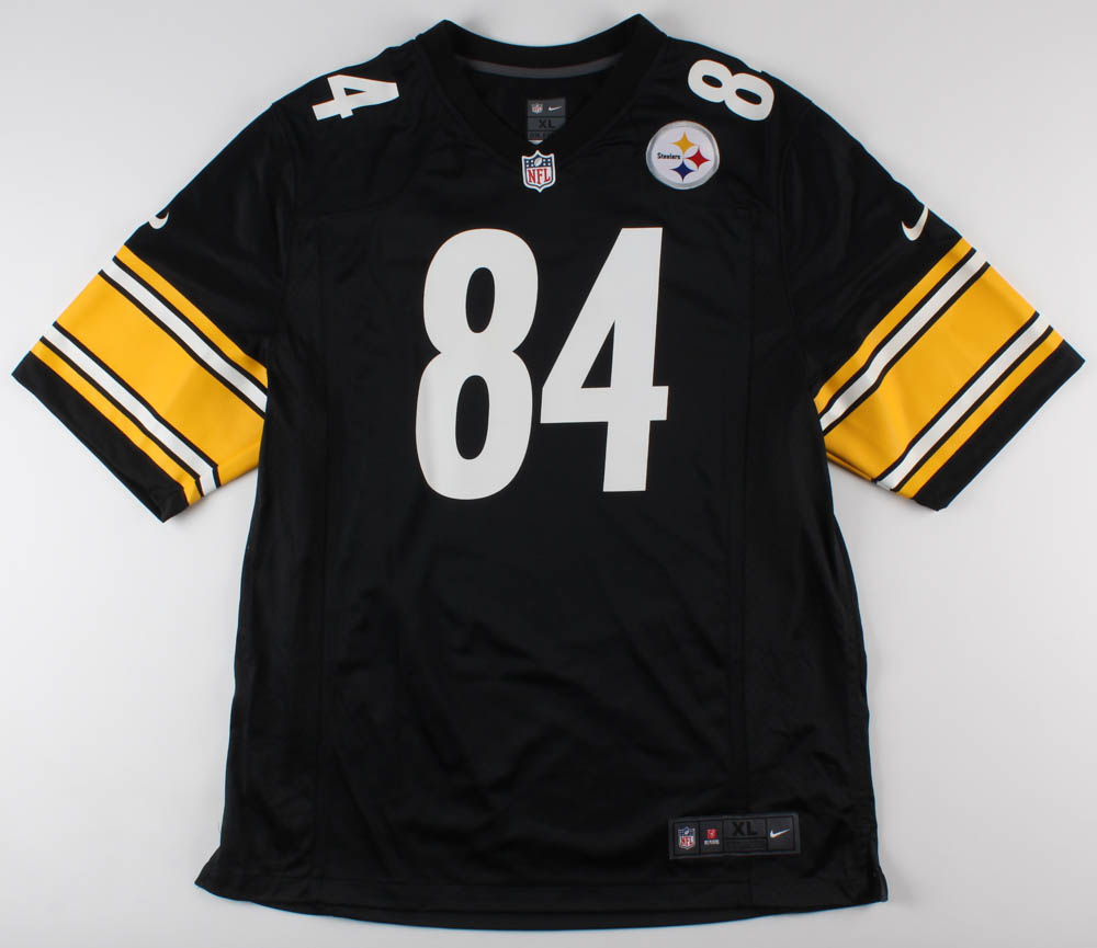 new product 469d9 0c20e Antonio Brown Signed Pittsburgh Steelers Jersey