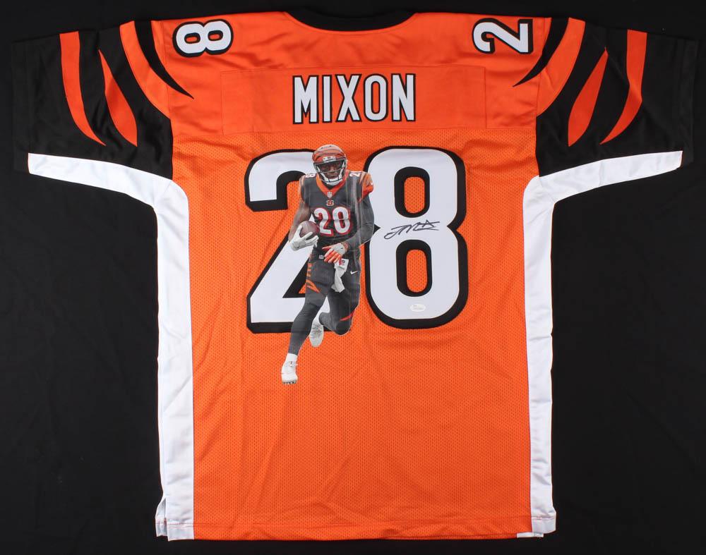 Joe Mixon Signed Cincinnati Bengals Jersey » Budd's Collectibles