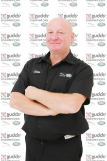 Chris Jackson - Land Rover & Jaguar Technician
