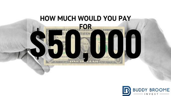 Calculator Challenge: How much would you pay for $50,000?