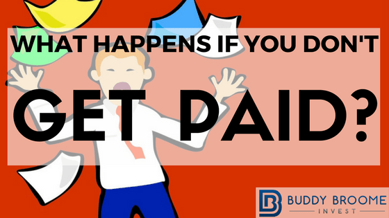 What happens if you don't get paid?