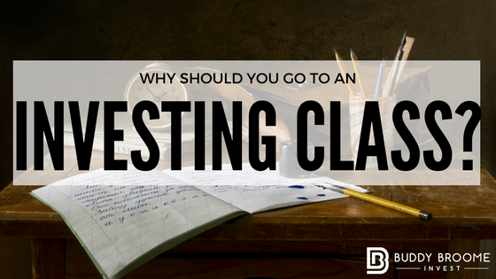 Why Should You Go to an Investing Class?