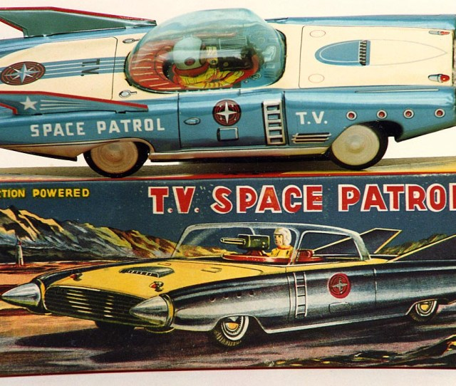 Japanese Space Toys Vintage Tin Toy Robots With Free Appraisals Space Cars Wanted Tin Toy