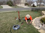 irrigation installation march april 13 001