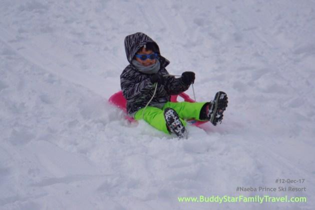 พาลูกเล่นหิมะ, ใกล้, โตเกียว, ญีปุ่น, naeba, prince