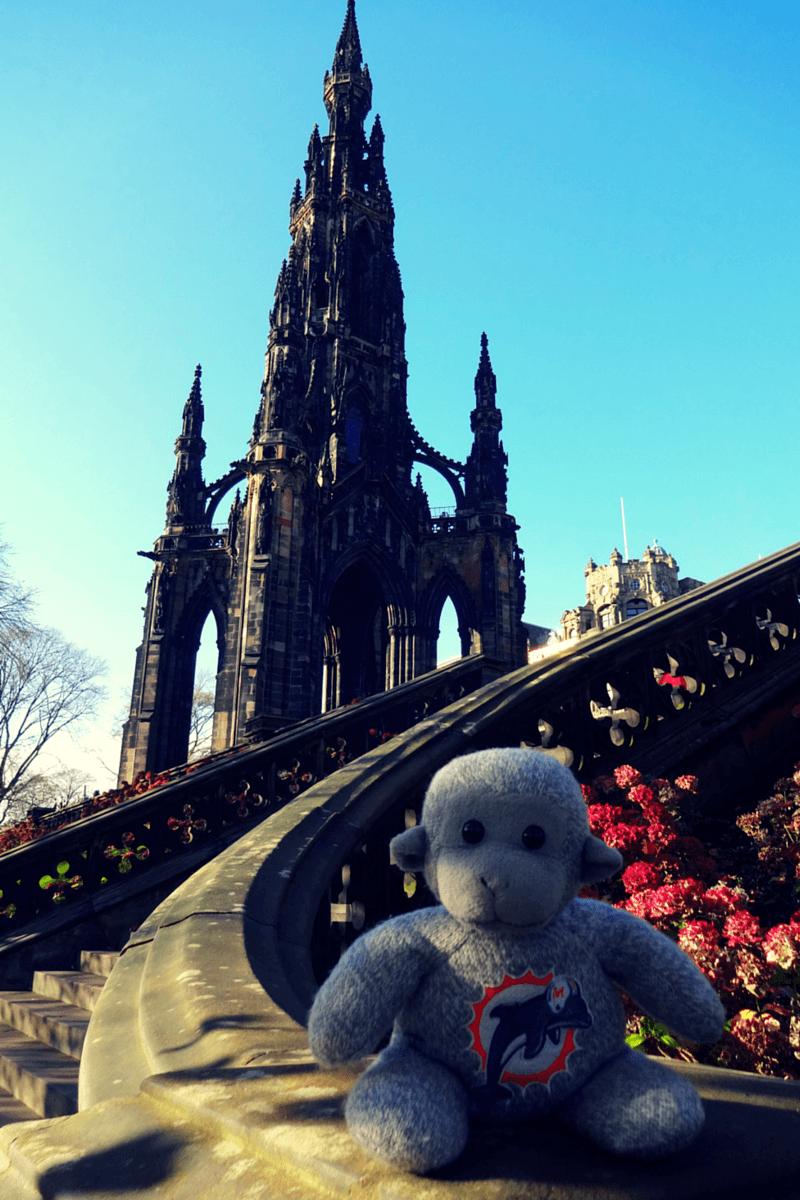 Buddy The Traveling Monkey Edinburgh