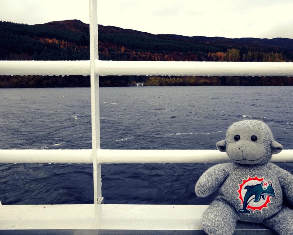 Cruising along Loch Ness