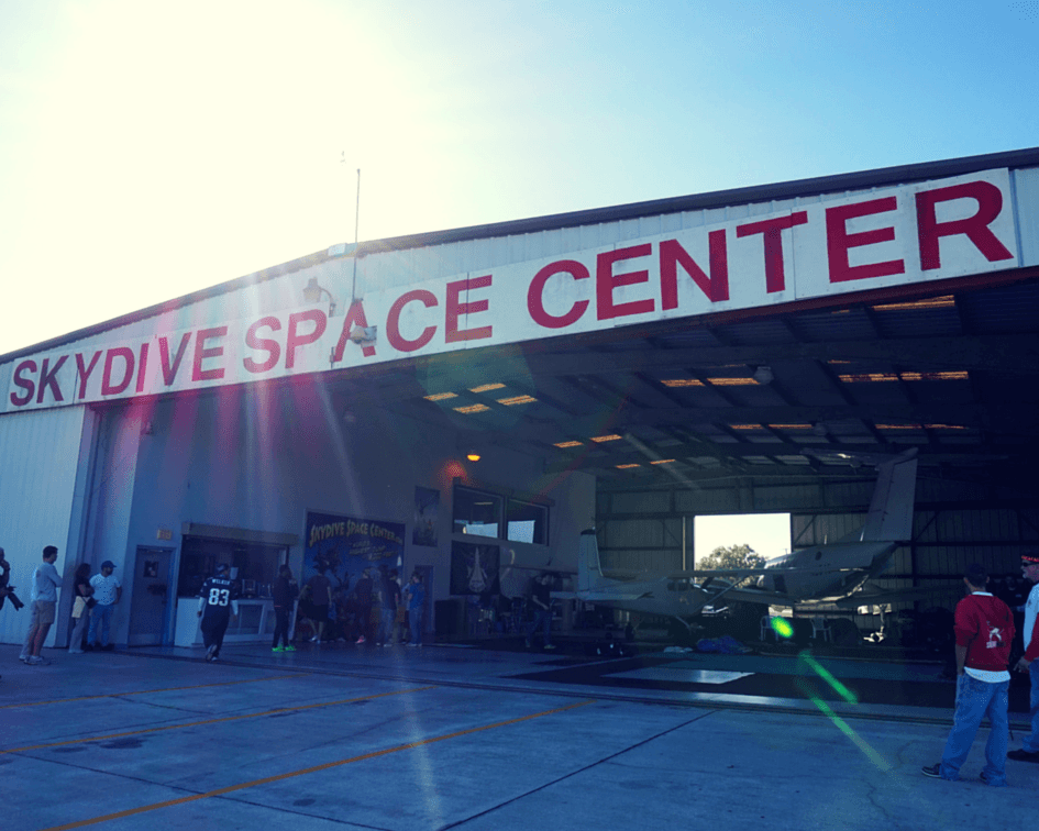 Skydive Space Center in Titusville, Florida
