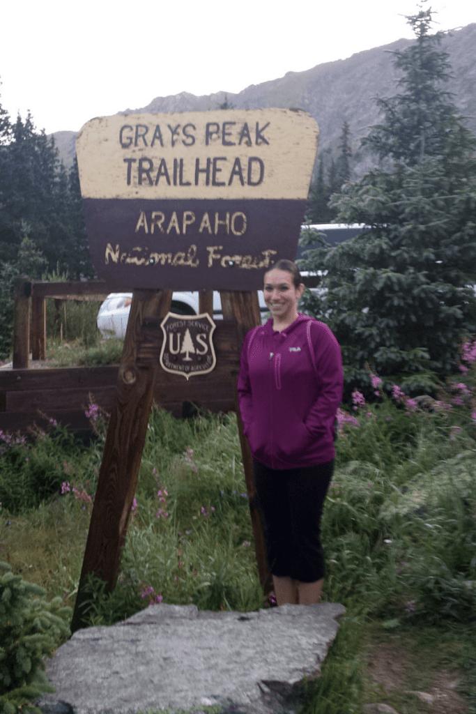 Grays Peak Trail Head Colorado
