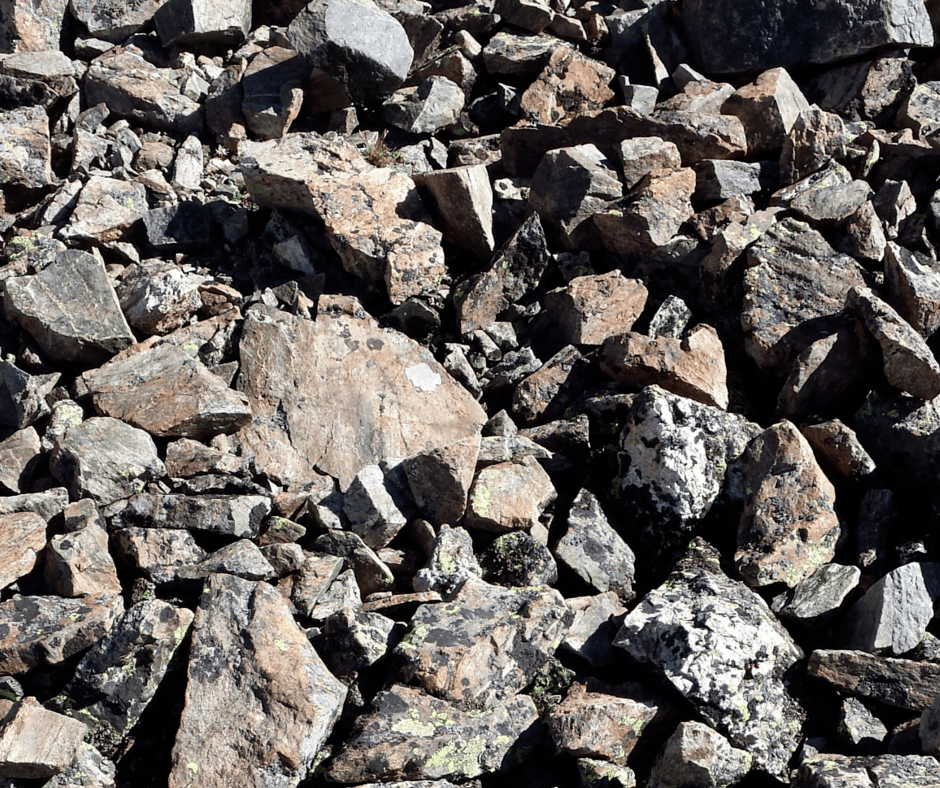 Rocks at Grays Peak