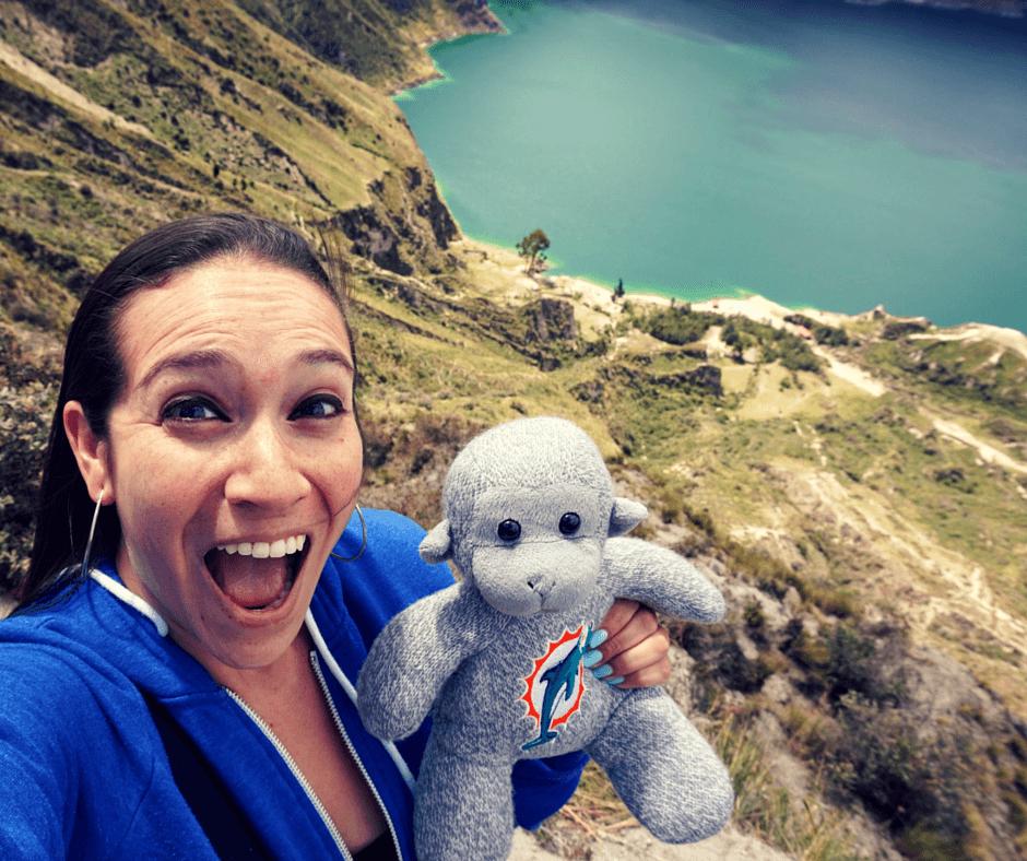Lake Quilotoa, nature places in Ecuador