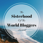 The Sisterhood Of The World Bloggers Award