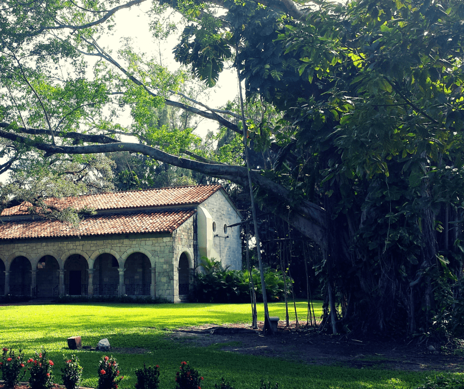 Ancient Spanish Monastery in North Miami Beach