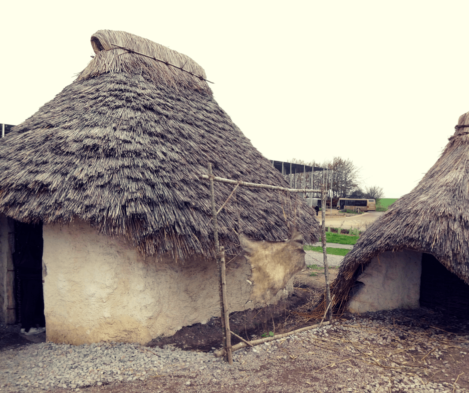 What to do at Stonehenge? Visit recreations of Neolithic houses