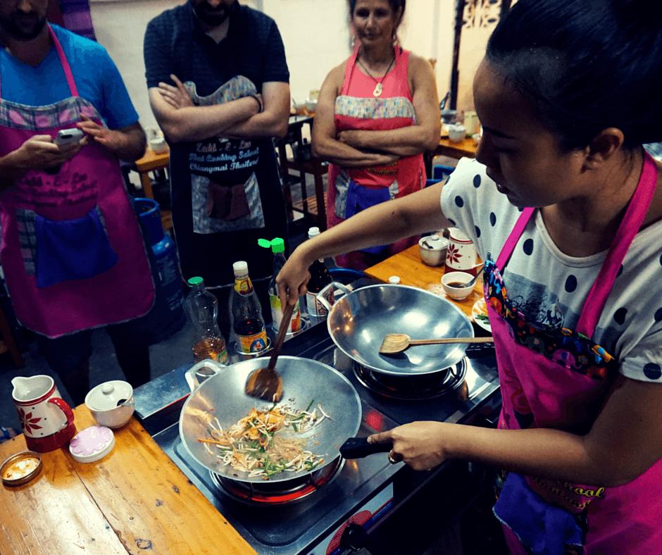 Anne of Zabb-E-Lee Thai Cooking School