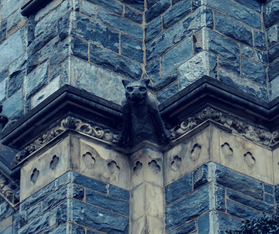 Buddy The Traveling Monkey St. Patrick's Church