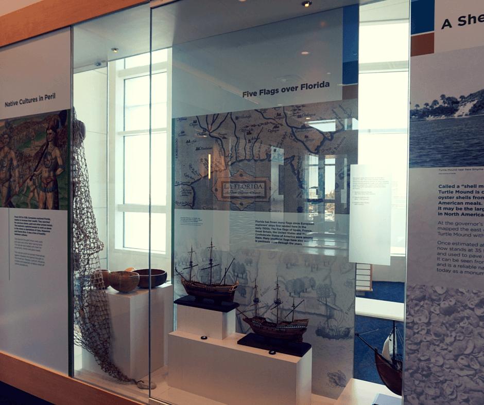museum inside Exploration Tower