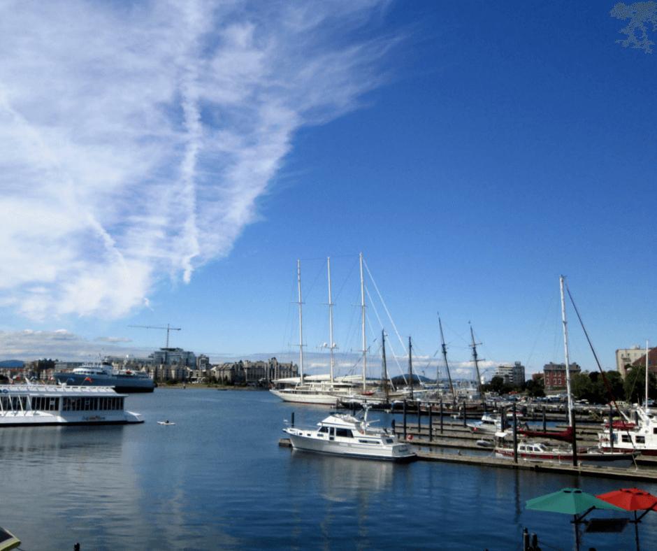 Inner Harbour of Victoria, British Columbia