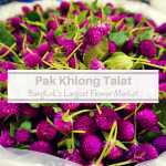 Pak Khlong Talat: Bangkok's Largest Flower Market