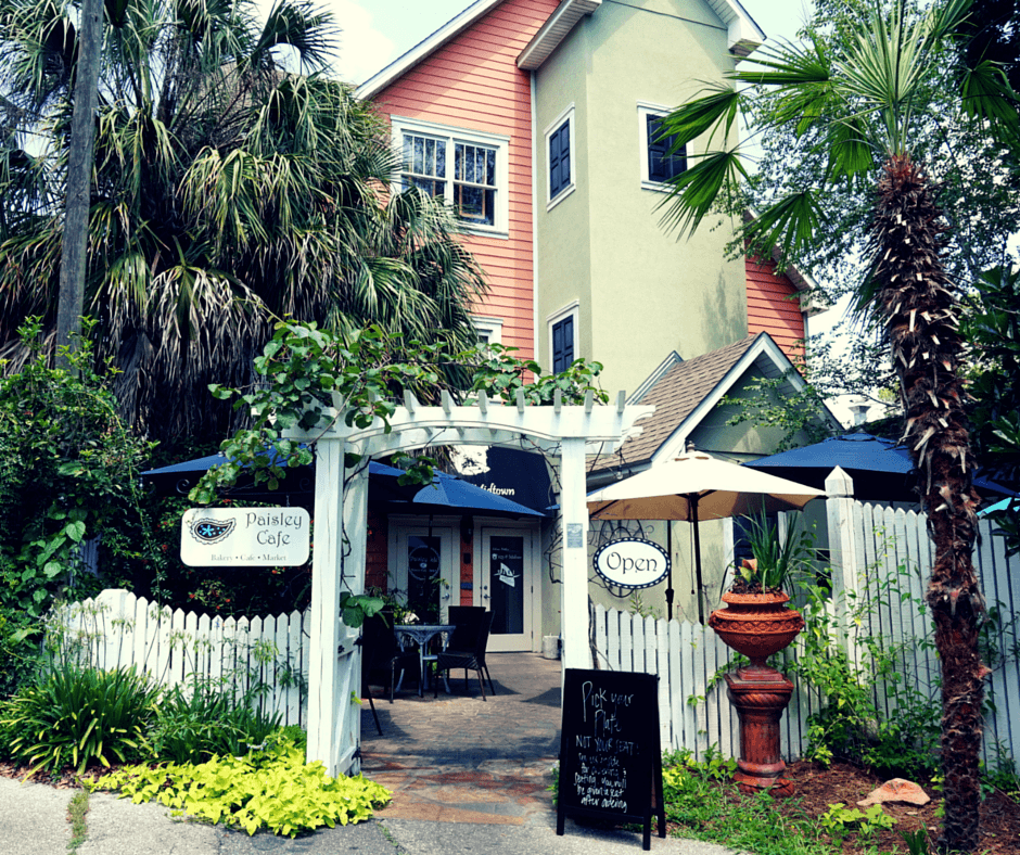 Paisley Cafe in Tallahassee