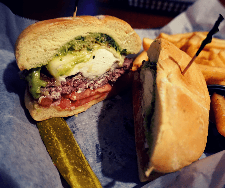 Monk's California burger in Tallahassee