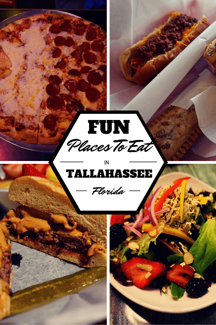 While exploring Tallahassee, Florida's capital, you're bound to get hungry. Here are some fun and mouthwatering placesfor you to try!
