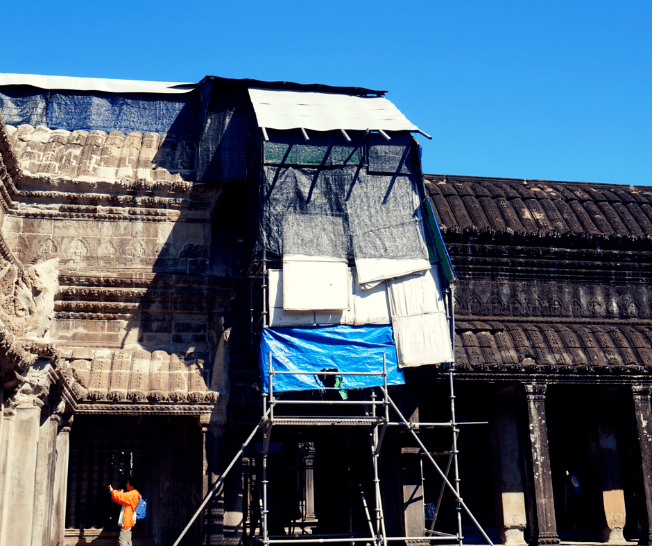Angkor Wat restoration