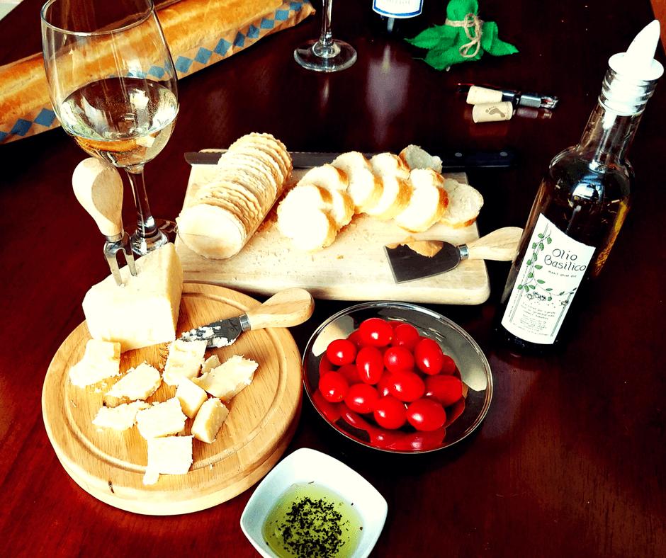 Sotto Voce and their delicious Olio Basilico