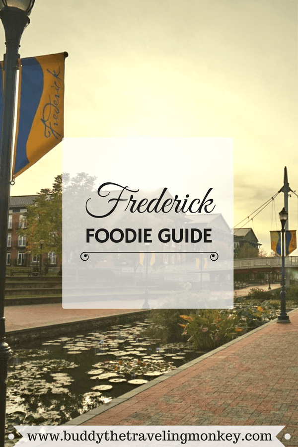 Buddy The Traveling Monkey Frederick Food Guide
