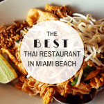 The Best Thai Restaurant In Miami Beach