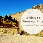 A Visit To Dinosaur Ridge In Morrison, Colorado