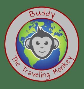 buddy the traveling monkey blog logo