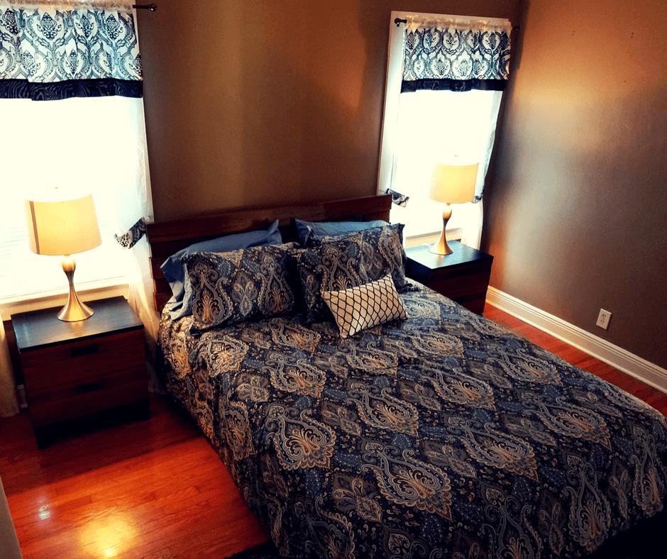 Second bedroom of Mango Inn bungalow