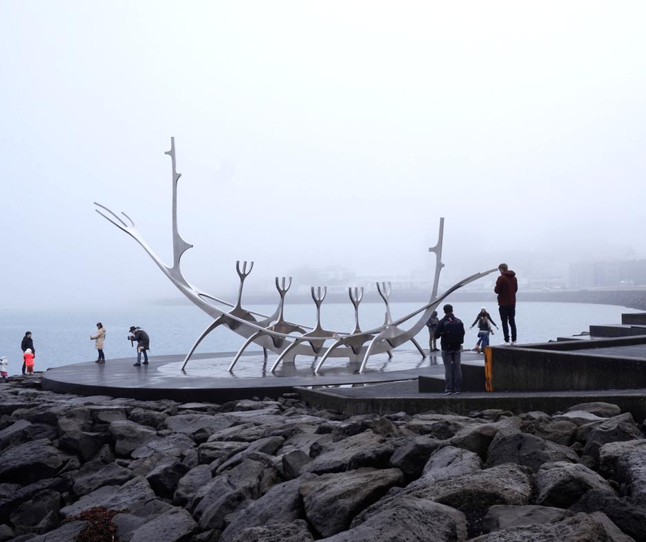 Sun Voyager Sculpture in Reykjavik