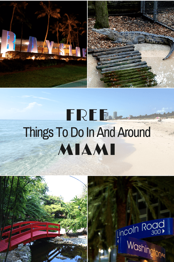 This list of free things to do in and around Miami will ensure your visit to The Magic City doesn't break the bank!