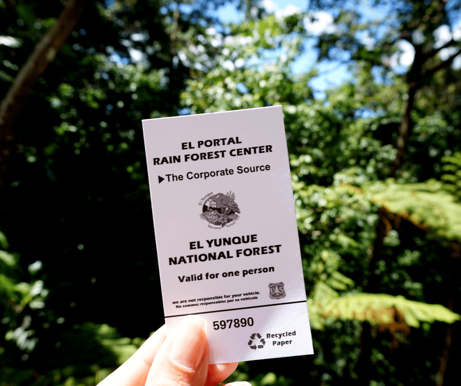 ticket to el yunque