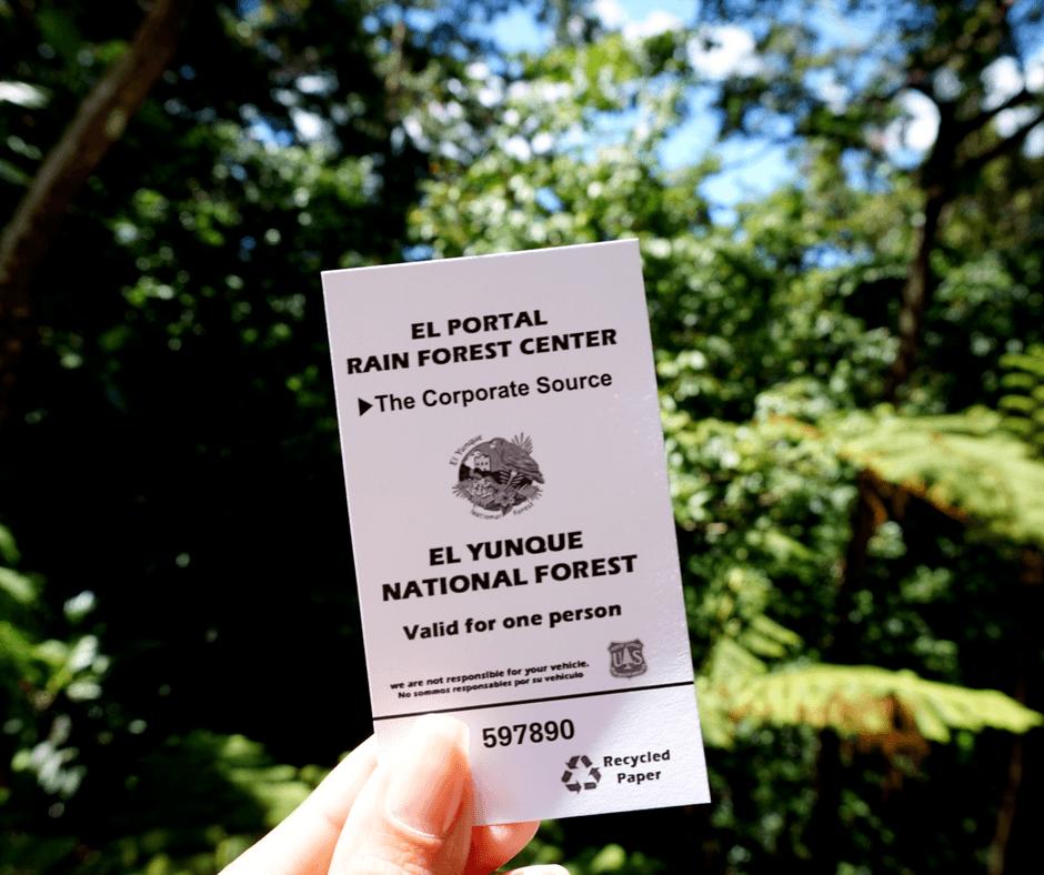 ticket to el yunque